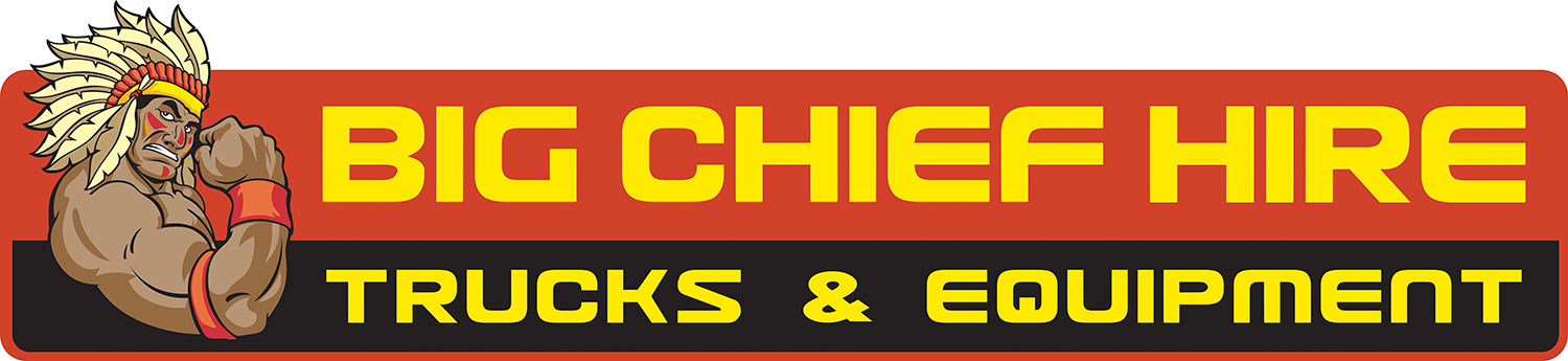 Big Chief Hire Logo - Trucks and Equipment