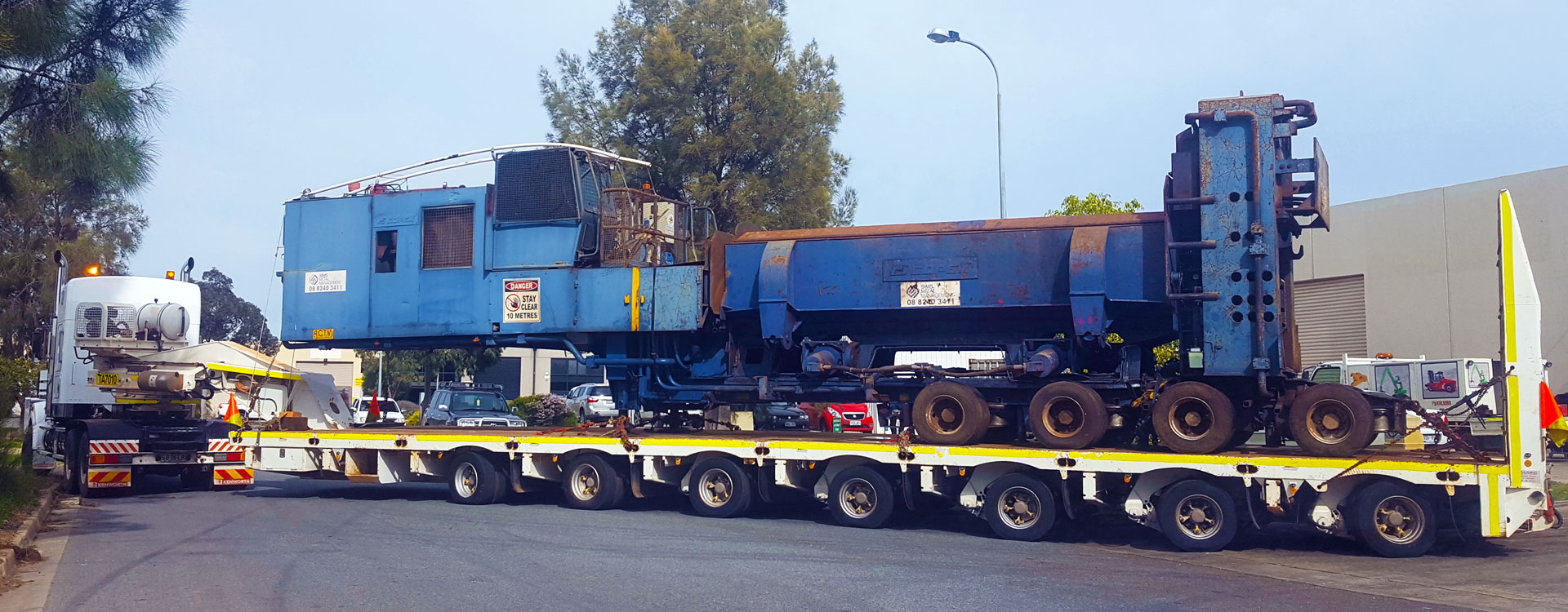 Big Chief Heavy Haulage Transport Truck with Over Mass load