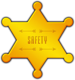 Big Chief Heavy Haulage Transport Safety star badge