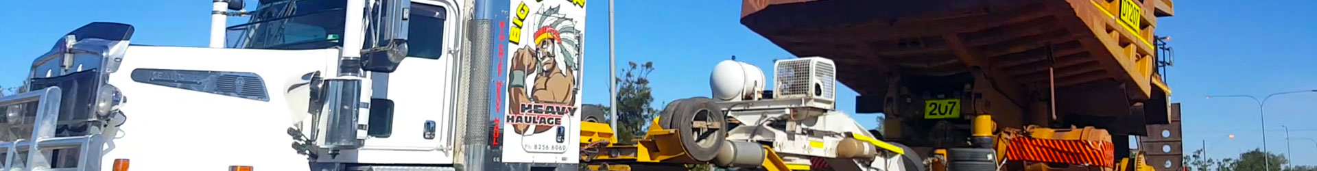 Big Chief Heavy Haulage Transport Truck